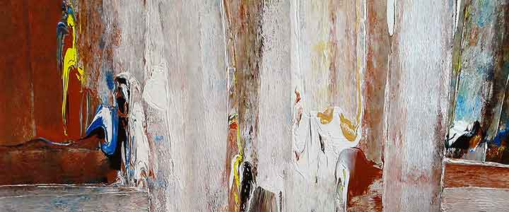 "Untitled Undated | Acrylic on canvas 30"" x 72"" 